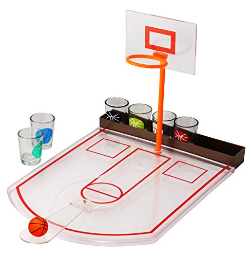 8 Piece Basketball Drinking Game