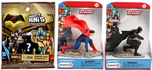 Superman Costume Walmart (Batman VS Superman Collection Schleich Scenery Batman & Superman Action 4
