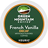 Green Mountain French Vanilla Decaf Single Serve K-Cup pods for Keurig brewers, 24 Count