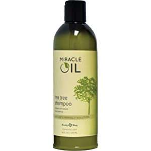 Earthly Body Miracle Oil Shampoo 16oz Tea Tree…