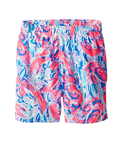 Lilly Pulitzer Kids Baby Boy's Capri Trunks (Toddler/Little Kids/Big Kids) Cosmic Coral/Cracked Up Large