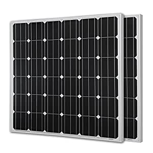 Renogy 150 Watts 12 Volts Monocrystalline Solar Panel ,2 Piece