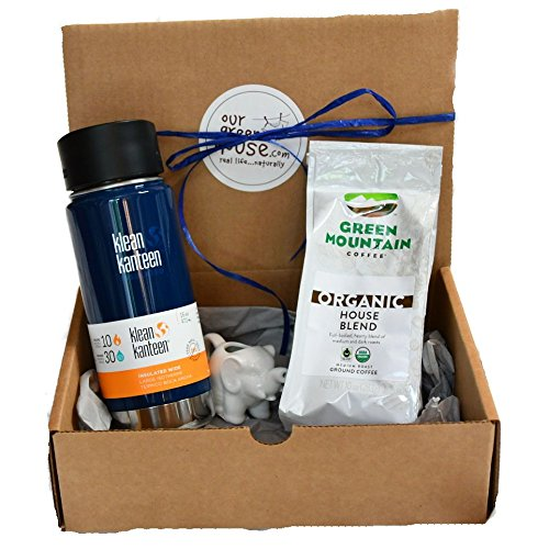 Fair Trade Coffee Gift Set - Organic, Eco-Friendly Grad Gifts