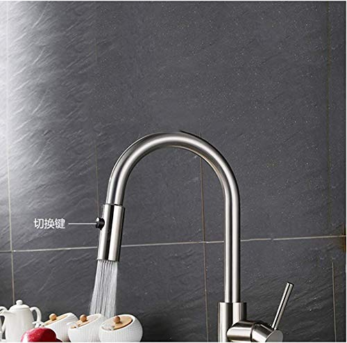 PHA-MACY Stainless Steel Sink Faucet