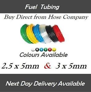 2,5mm, 3mm ID Fuel Benzin Rohr Schlauch passend für Rasentrimmer...
