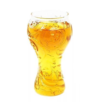 Runfon Vidrio de Cerveza Copa del Mundo 2018 Rusia FIFA Taza de Cerveza Botella Cerveza para