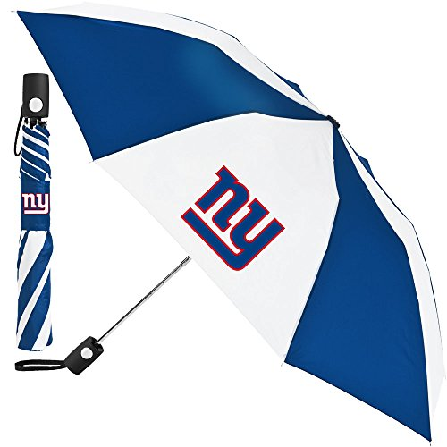 Umbrella Giants - McArthur Sports- NFL Auto Fold Umbrella New York Giants