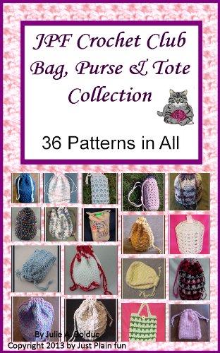 JPF Crochet Club Bag, Purse and Tote ()