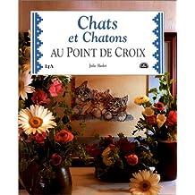 Chats et chatons au point de croix