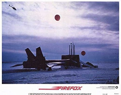 Firefox POSTER Movie (1982) Style E 11 x 14 Inches - 28cm x 36cm (Clint Eastwood)(Freddie Jones)(David Huffman)(Warren