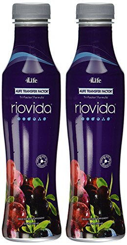 Riovida Tri-Factor Formula by 4Life - 2x500 ml Bottles