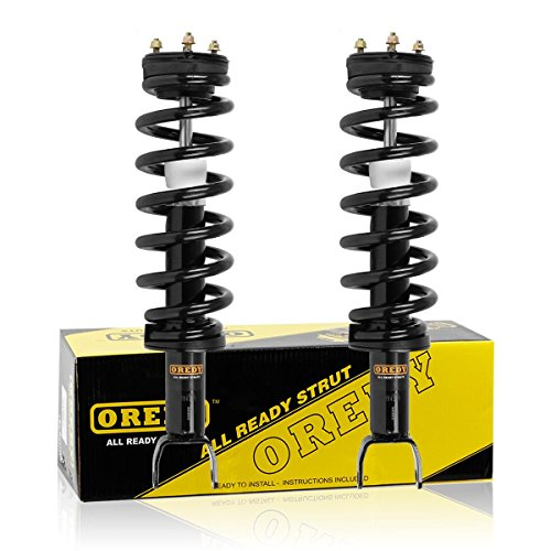 OREDY Front Pair Complete Struts Assembly Shock Coil Springs Assembly Kit 172292 1345567 ST8606 9214-0156 Compatible with Dodge Ram 1500 4WD 2009 2010/Ram 1500 2011 2012 2013 2014
