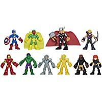 Playskool Heroes Marvel Super Hero Adventures Ultimate Super Hero Set, 10 figures, Ages 3-7
