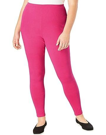 d41fe49f3d90 Woman Within Women s Plus Size Petite Stretch Cotton Legging