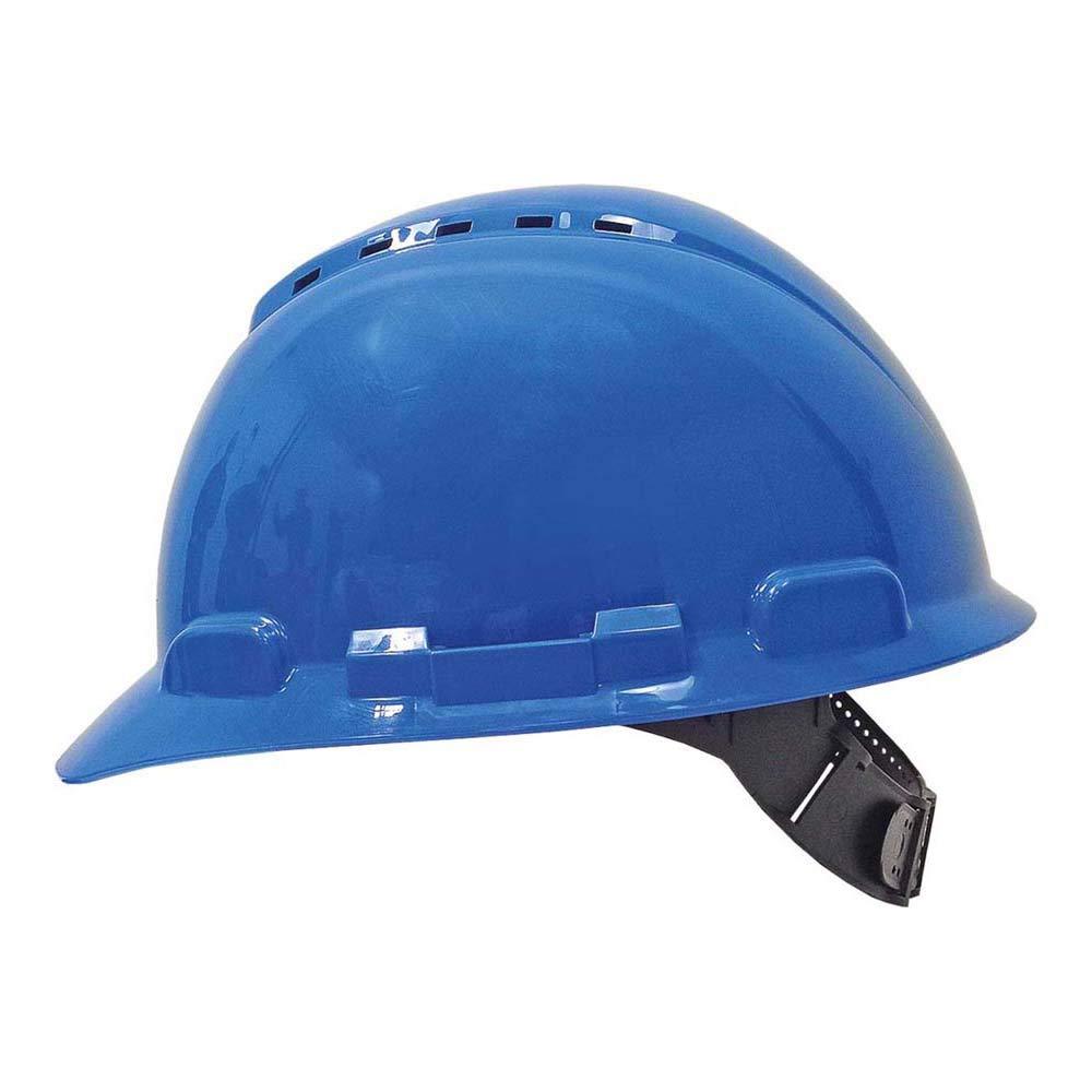 3M Casco con ventilación y arnés estandar Azul (1 casco/bolsa ...
