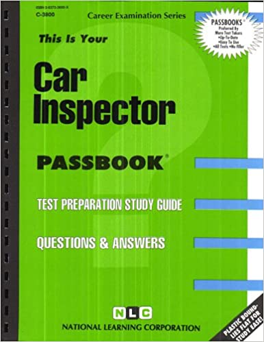 Car inspectorpassbooks jack rudman rudman national learning car inspectorpassbooks jack rudman rudman national learning corporation 9780837338002 amazon books fandeluxe Image collections