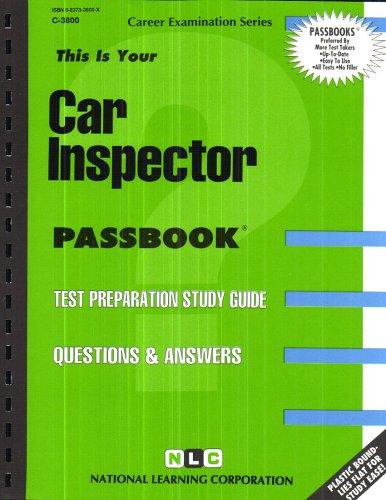 Car Inspector(Passbooks)