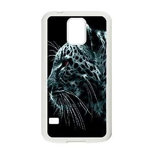 SamSung Galaxy S5 G9006V Cheetah Phone Back Case Customized Art Print Design Hard Shell Protection MN026843