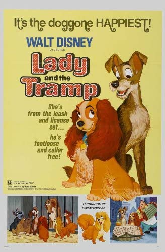 Amazon.com: Lady and the Tramp POSTER Movie (1955) Style H 11 x 17 Inches -  28cm x 44cm (Larry Roberts)(Peggy Lee)(Barbara Luddy)(Stan Freberg)(Alan  Reed)(Bill Thompson)(Bill Baucon): Prints: Posters & Prints