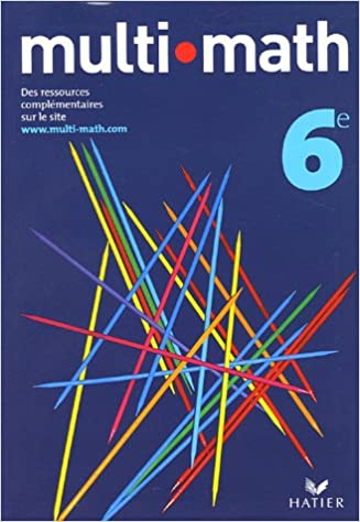 multi math manuel 6e