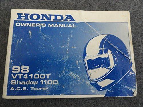 1998 Honda VT1100 Owners Manual VT 1100 T Shadow A.C.E. ...