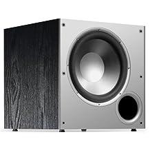 Polk Audio PSW10 10-Inch Monitor Series Powered Subwoofer (Single, Black)