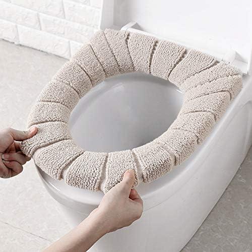 冬の浴室トイレパッドクッションパッド入りトイレパッドクッショントイレカバーアクセサリー