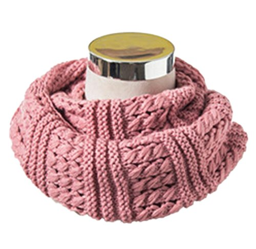 HONEYJOY Winter Twist Knit Warm Infinity Circle Scarf - Diff Colors (03)