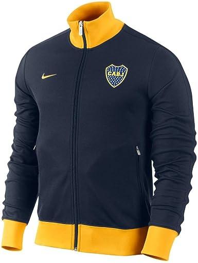 Tierras altas Memorizar Dedicar  Amazon.com: Boca Juniors Azul Nike Authentic N98 – Chaqueta, Azul, L:  Clothing