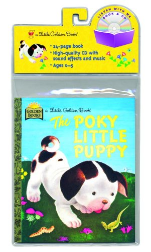 The Poky Little Puppy (Little Golden Book & CD) PDF
