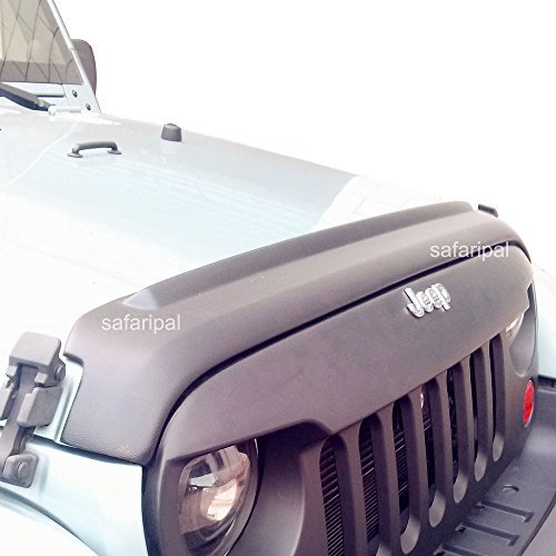 Safaripal Hood & Tailgate Protector for Jeep Wrangler 2&4 Door 2007-2015 Matte Black