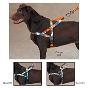 Casual Canine Xtreme Game Over Dog Control Harness, Fits Chest 21 to 24-Inch, Grey