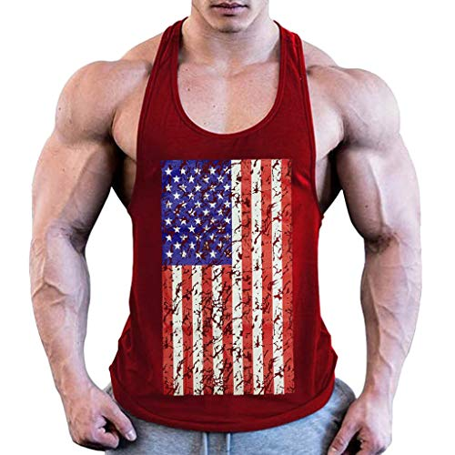 iHPH7 Tank Tops Men Workout Quick Dry Soft
