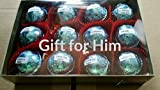 Bath Bombs for Men Gift Set for Him with 12 foil-wrapped 2.5 oz bath bombs