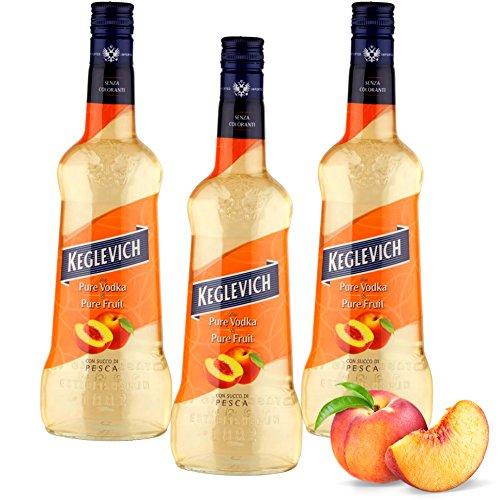 Keglevich & Pure Fruit Peach Juice