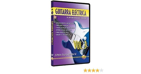 Amazon.com: Guitarra Electrica, Vol 3: Tu Puedes Tocar La Guitarra Ya! (Spanish Language Edition) (DVD): Movies & TV