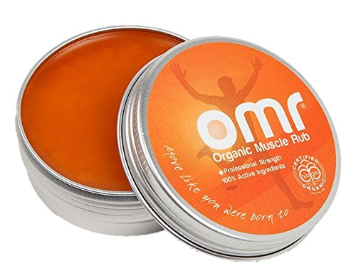 Professional Strength, Certified Organic, Anti-Inflammatory Muscle Rub (OMR) 100% Active Ingredients include Hemp Seed Oil, Arnica, Capsicum and Manuka Targets Muscle/Joint Pain Naturally 2.1 oz tin ()