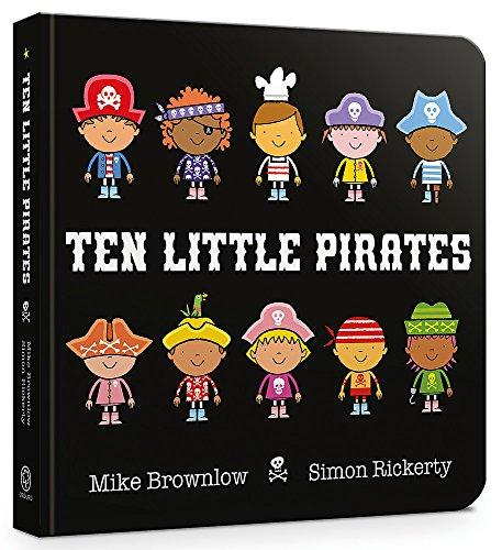 Ten Little Pirates: Board Book