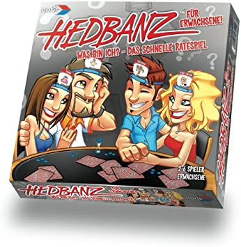 Noris 606017141 Hedbanz - Juego de Mesa para adivinar (edición Adultos, Contenido en alemán) [Importado de Alemania]: Amazon.es: Juguetes y juegos