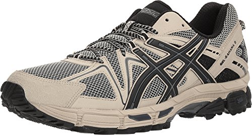 ASICS Gel-Kahana 8 Shoe - Men's Running Feather Grey/Black/Carbon (Best Running Shoes For Overpronation And Wide Feet)