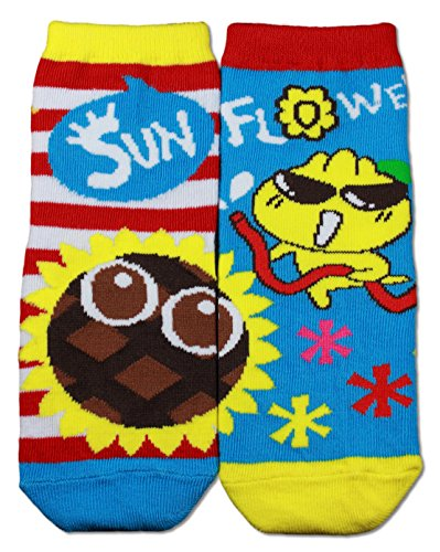 Gama Family Word Learning Unisex Children Socks - Teach Compound Word Sunflower