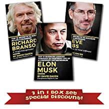 Grow Rich Mindset: 3 in 1 Box set - Elon Musk, Steve Jobs, Richard Branson: Secrets to Success in Life & Business of Billionaire