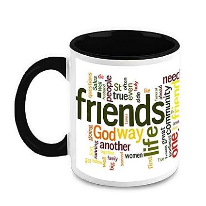 HomeSoGood Friendship Quotes Coffee Mug