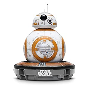 Sphero Battle-Worn Bb-8 Droid with Force Band & Collector's Edition Black Tin by Star Wars