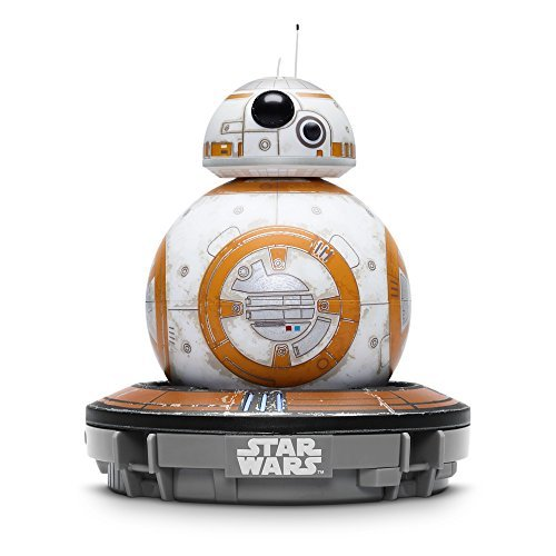 Sphero Battle-Worn Bb-8 Droid with Force Band & Collector's Edition Black Tin by Star Wars (Special Edition Tin)