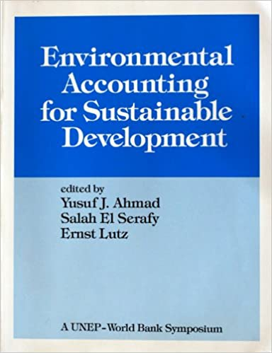 Book Environmental Accounting for Sustainable Development (Unep-World Bank Symposium)