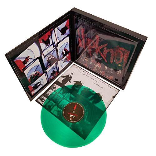(Slipknot 2009 Road Runner Records Green Vinyl LP Album & Tee Shirt Box Set - Size Large)