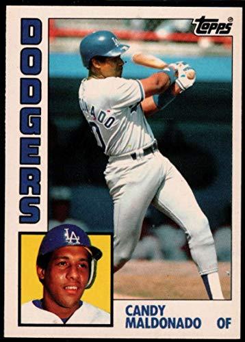 Baseball MLB 1984 Topps Tiffany #244 Candy Maldonado -