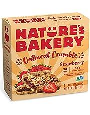 Nature's Bakery Oatmeal Crumble Bars Strawberry, 6 x 40g