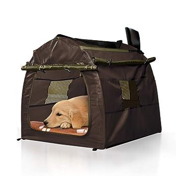 Hianiquaime® Tienda de Campaña para Perro Plegable Desmontable y Lavable Cama Casa Refugio para Perro